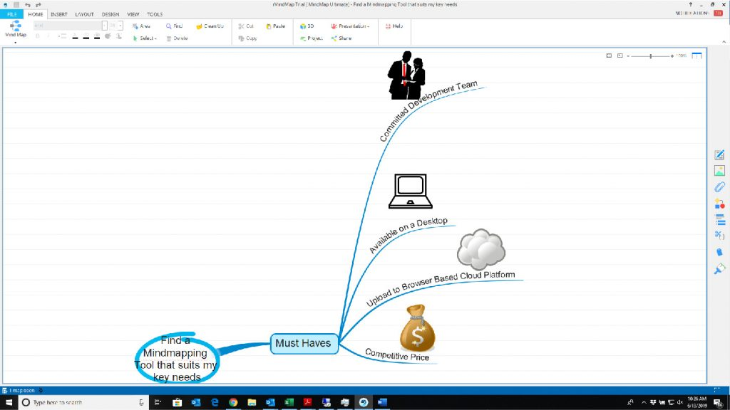 open imindmap file